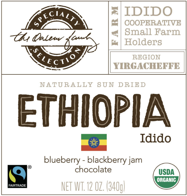 Carolina Coffee Ethiopia Idido