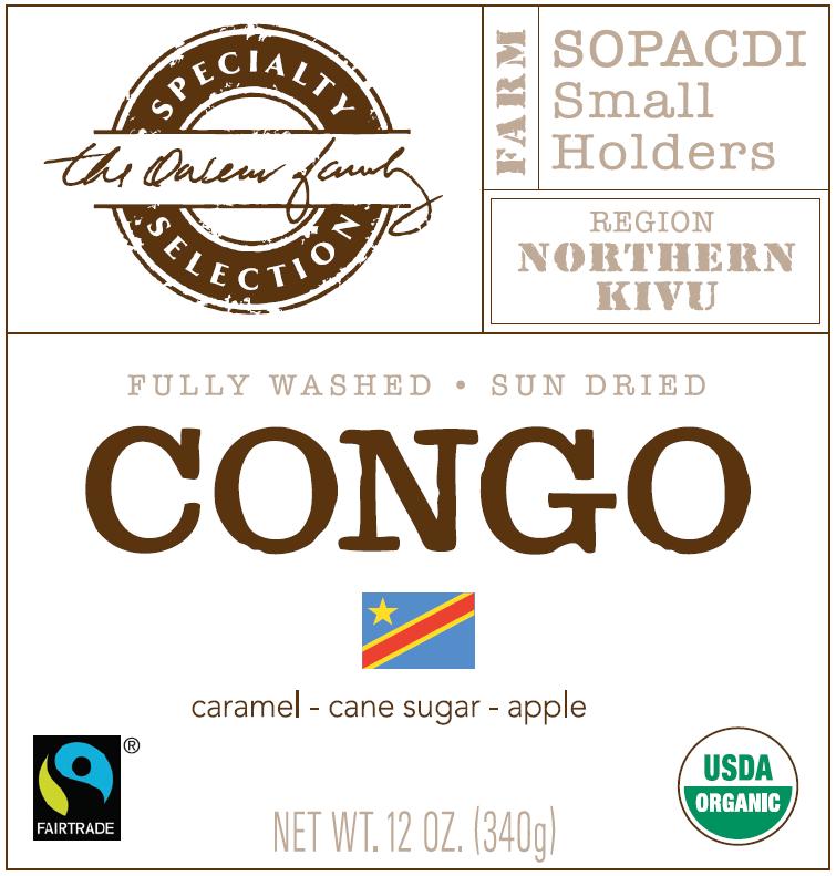 Carolina Coffee DR Congo Kivu