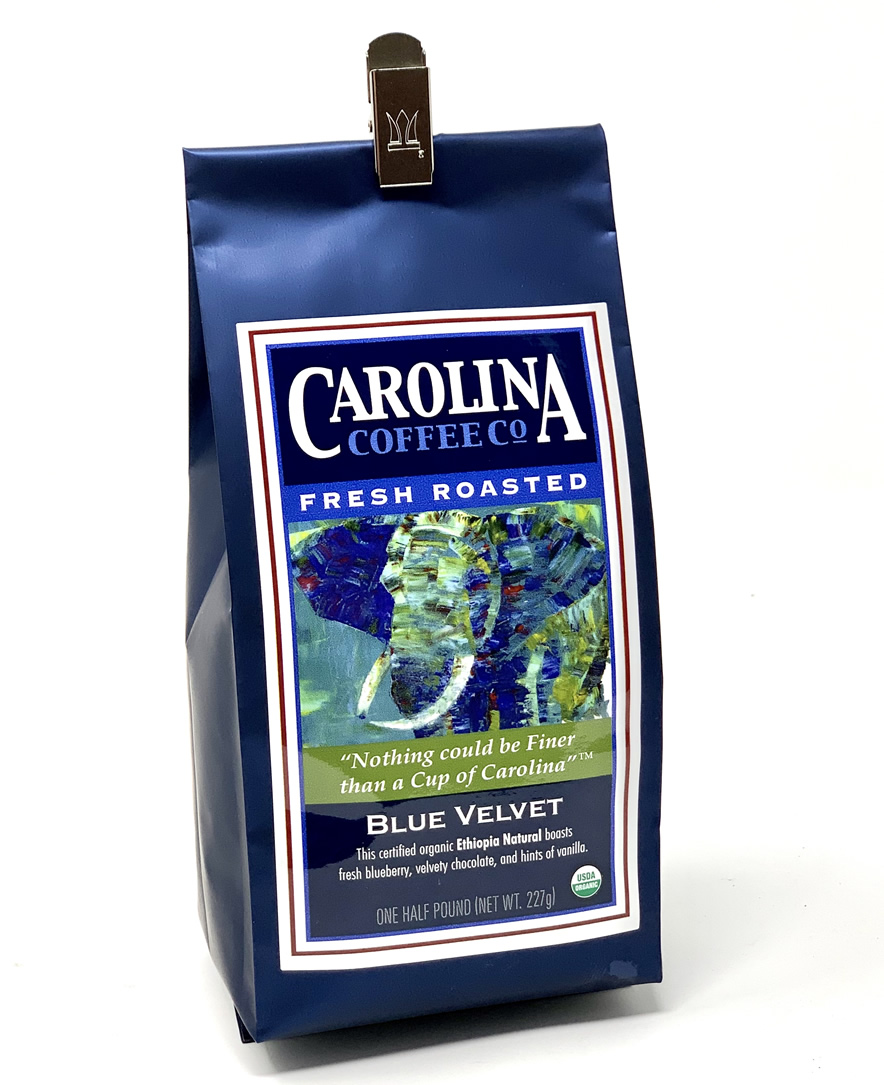 Carolina Coffee Ethiopia 'Blue Velvet'