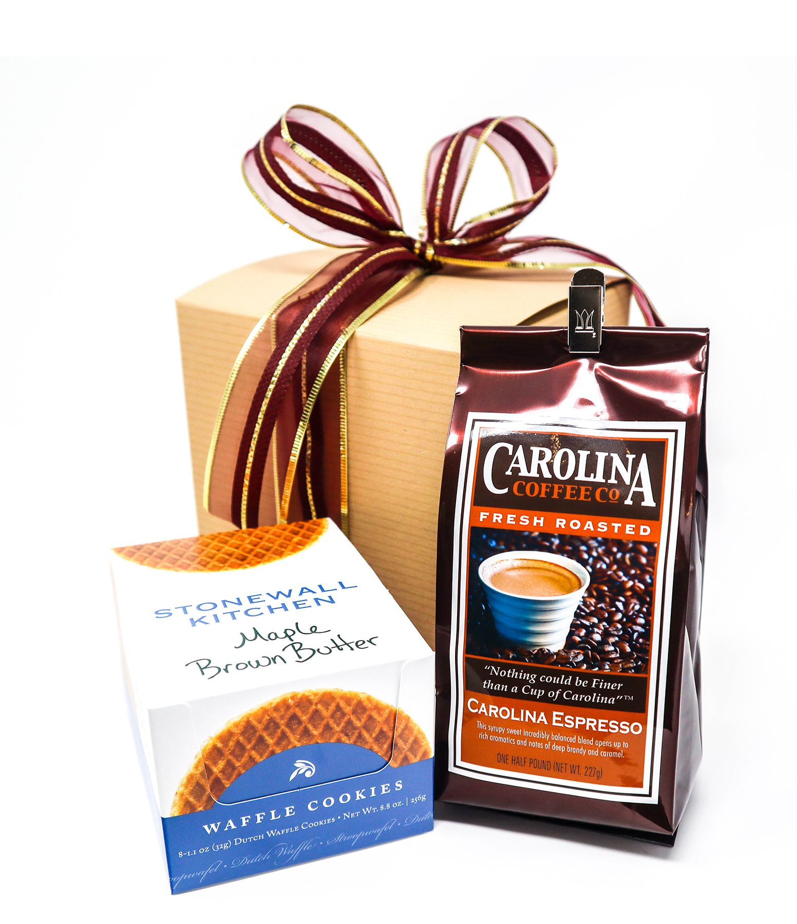 Carolina Coffee Coffee and Maple Brown Butter Waffle Cookies