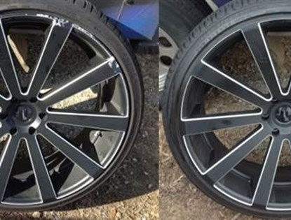 What can I say other than wow! Holy $#!^ looks like a brand new rim!