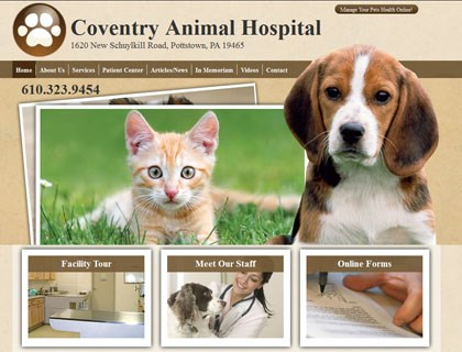 coventry animal hospital homepage