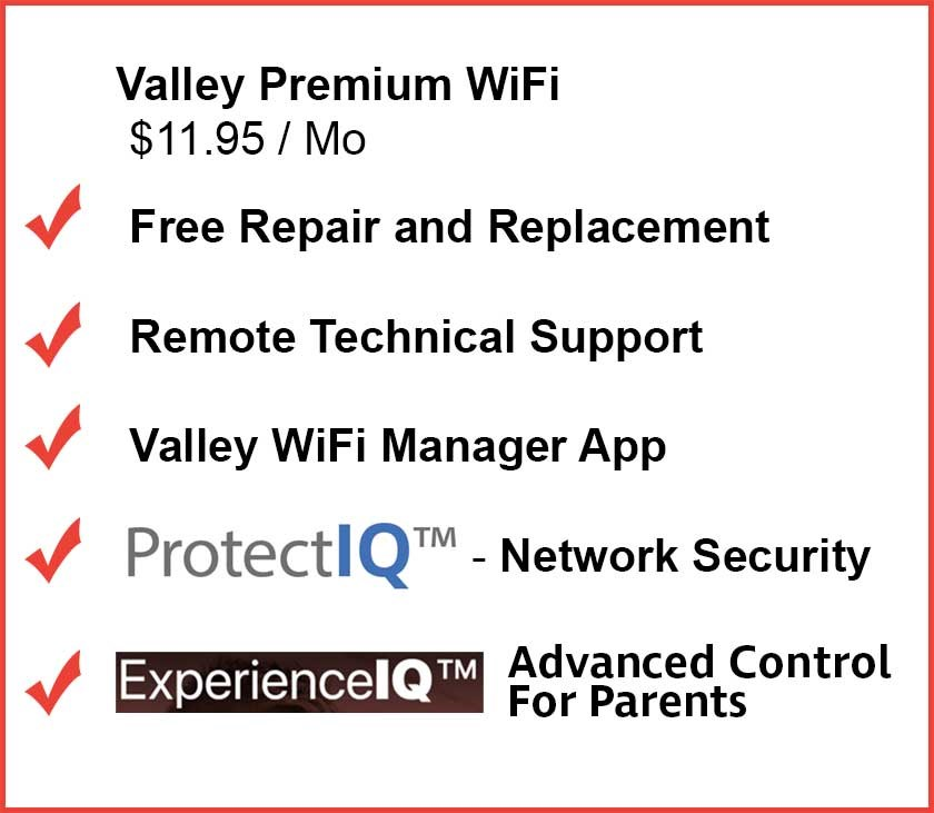 Premium WiFi Benefits