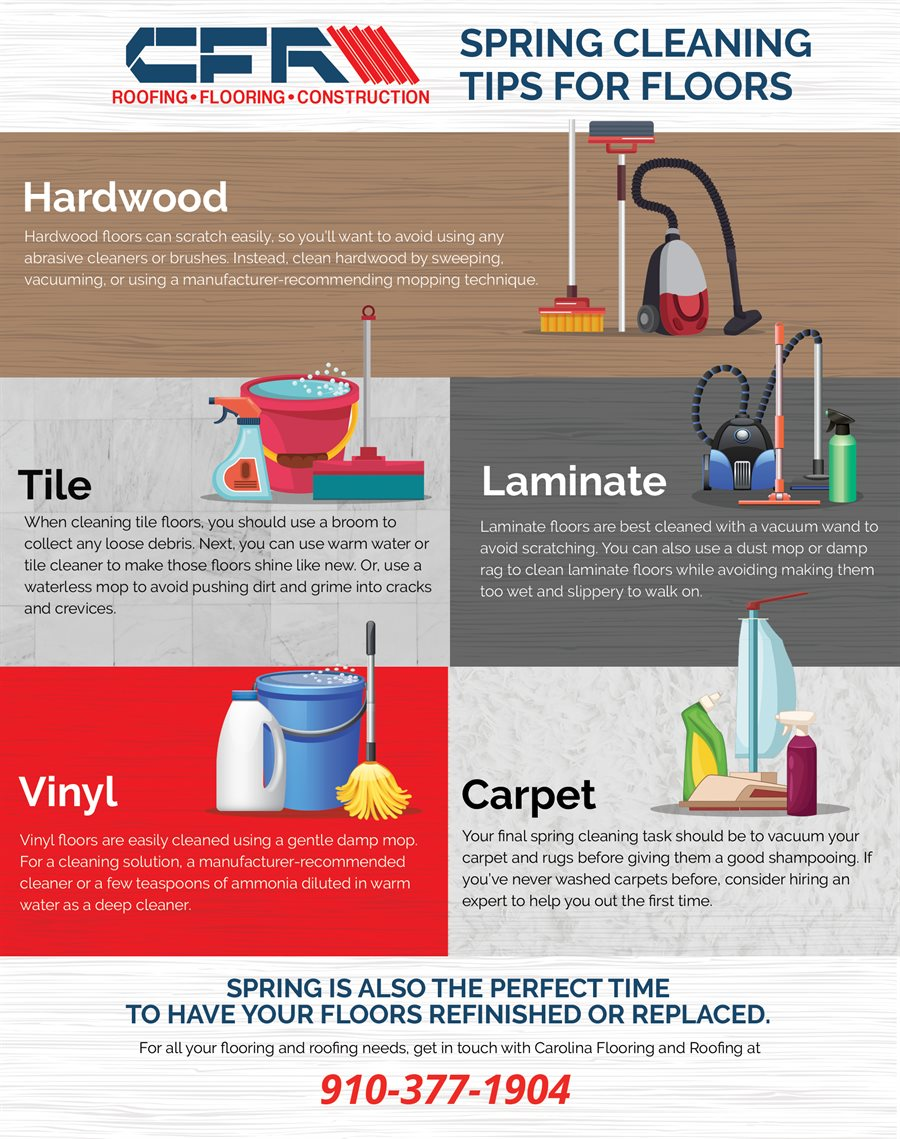 Spring cleaning tips for floors