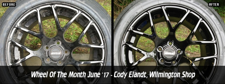 Wheel of the Month June `17 - Cody Elandt, Wilmington Shop
